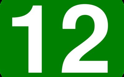 ENTRAMOS EM DEZEMBRO, O MÊS 12!