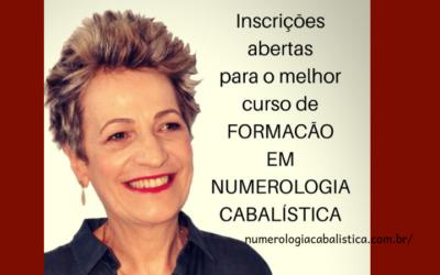 Curso de FORMAÇÃO em Numerologia Cabalística